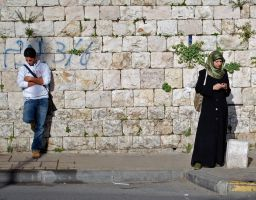 Strangers, East Jerusalem by dpt56