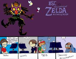 BrainSratchComms Vs Majora's Mask by CrankshaftRabbit