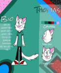 Thomas/Official Ref 2014 by KeyThePenguin69