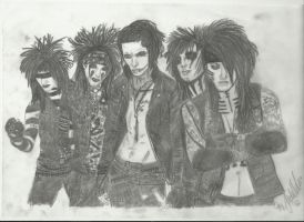 black veil brides the 4 th by xxdaswarwohlnix
