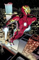 Iron Man colored by kentarcher
