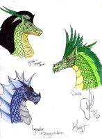Dragons by FaluuVaud