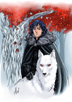 Jon Snow by rerekina
