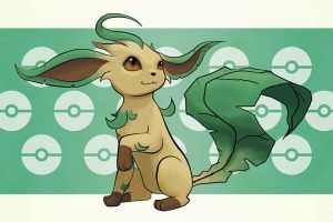 No. 470 Leafeon by MGabric