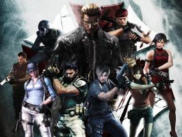 Resident evil wallpaper 2 by ethaclane