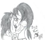 Zack and Rumi Sketch by TeamAvalancheMember2