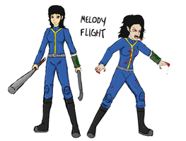 Melody Flight and Other Mel humanized by glue123