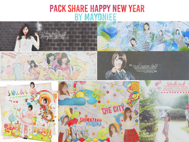 31012015 Pack Share PSD Happy Lunar New Year by mayuyulk