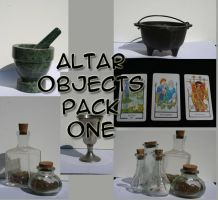 Altar Objects Pack - 1 by Seductive-Stock