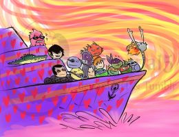 TMNT The Ship of all Ships by Dragona15
