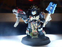 Ultramarines Chaplain  in Terminator Armour by demones