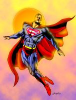 Superman Colouring by unknownguyver81