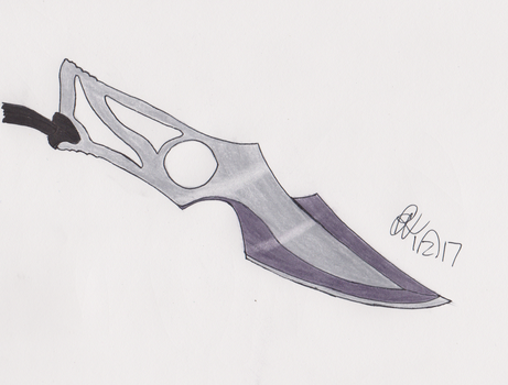 Knife Concept by RookieTiger