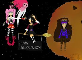 Happy Halloween Colored by KCO1