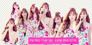 [PNG PACKS ] TIFFANY SNSD - BLUEONE DREAM FESTIVAL by babyjung2