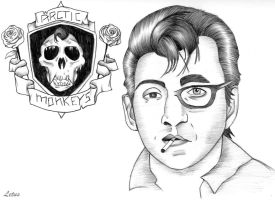 Arctic Monkeys - Alex Turner - Richard Hawley by PoffinLetus