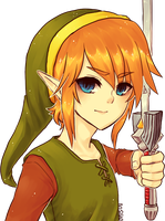 ALttP -- Link by onisuu