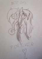 Best sis forever by Etosama