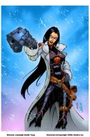 Baroness- Andie Tong...Old... by SplashColors