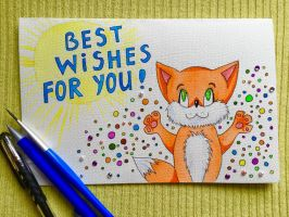 Summer Card Project by Arnen-2014