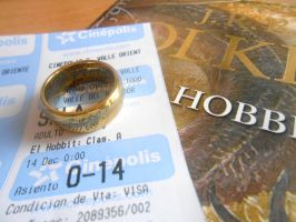 The Hobbit Premiere Ticket by PseudonymousRMY