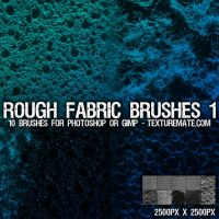 Rough Fabric 1 Brush Set by AscendedArts