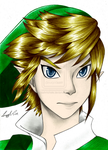 Skyward Sword Link by Javiink