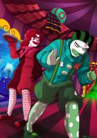 Clown profession by FreakyVicky