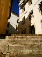 Streets of Coimbra by Selenia-actimel