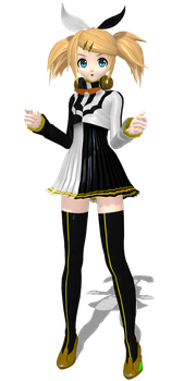 Project Diva Arcade Future Tone Reactor Rin by Luke-Flame