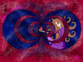 heart nouveau by TheButterfly