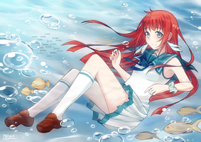 Nagi no Asukara: In the Calm by Haiyun