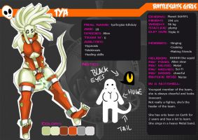 Character's files: Tya by AngsTheWicked