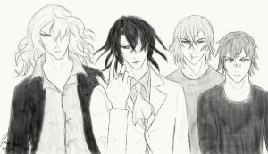 Noblesse Fanart - Heroes by jacquelynfisher