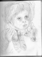Porcelain doll by SoliDeo