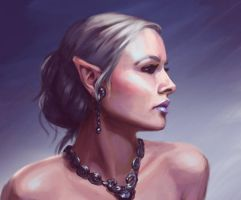 Elf Speedpaint Study by lithriel