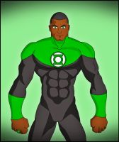 John Stewart by DraganD