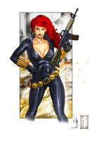 Black Widow by Juliusdean by Tatong