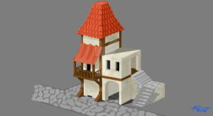 Model of a house 01 by C-frost