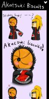 Akatsuki biscuits comic by LittleMizzSunShine7