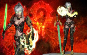 Lilias the Blood Knight by Primantis