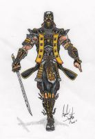 Grandmaster Scorpion Design by soysaurus1