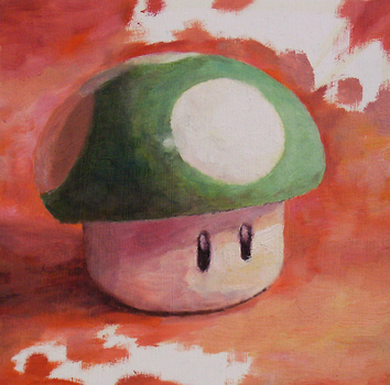 1UP painting by thgrup