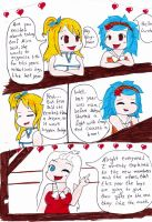 Fairy tail valentines day ( Chibi version)  page 1 by piranha-pk