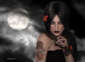 Full Moon by anson7