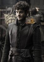Ramsay Snow and His Daemon by LJ-Todd