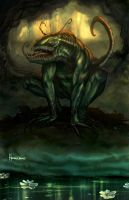 Swamp Creature by Homeros-Gilani