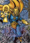 Doctor Fate - Sketch Card by tonyperna