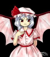 ZUN-ish Remilia by Taralen