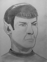 Weekly Drawing: Spock by McKravendrawings